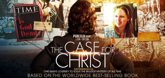 The Case for Christ movie poster.