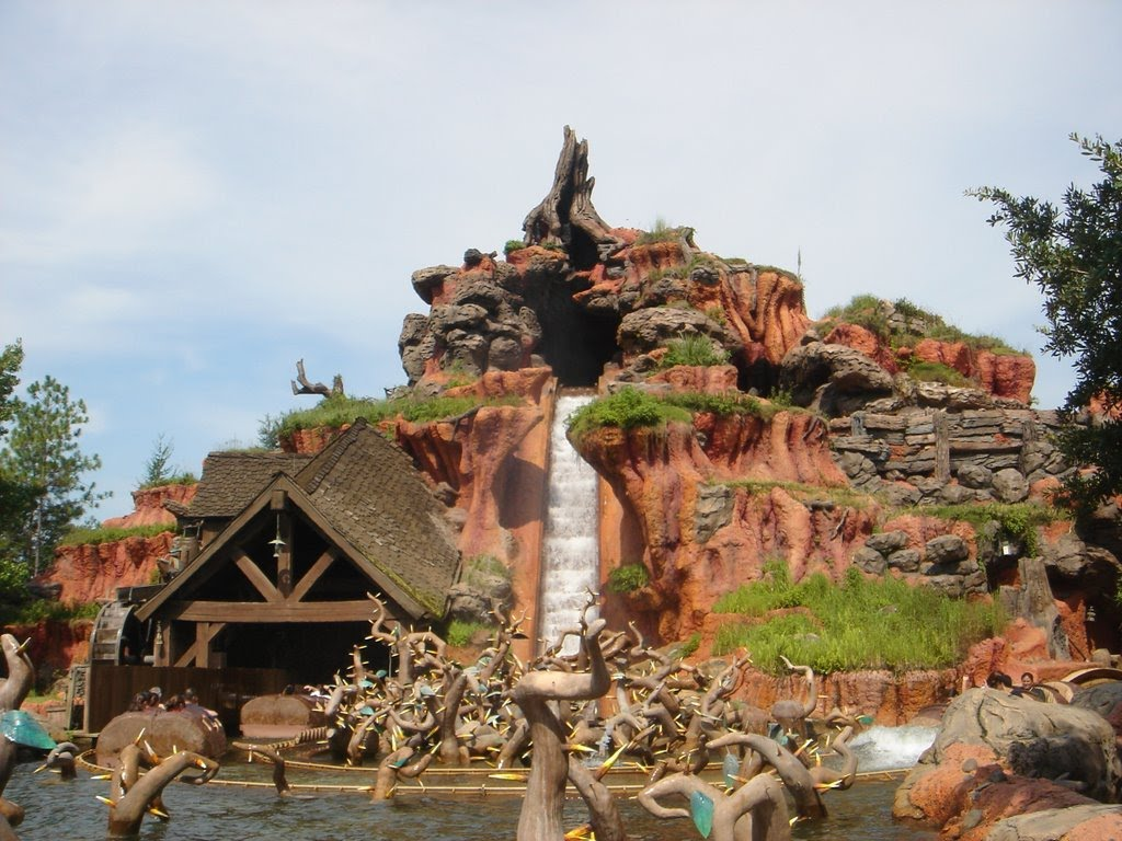 Splash Mountain is based on the Disney film Song of the South which is based on the Uncles Remus stories collected by Joel Chandler Harris