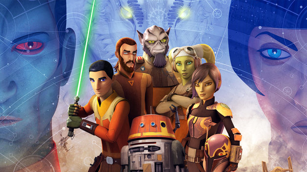 Characters from Star Wars Rebels TV series.