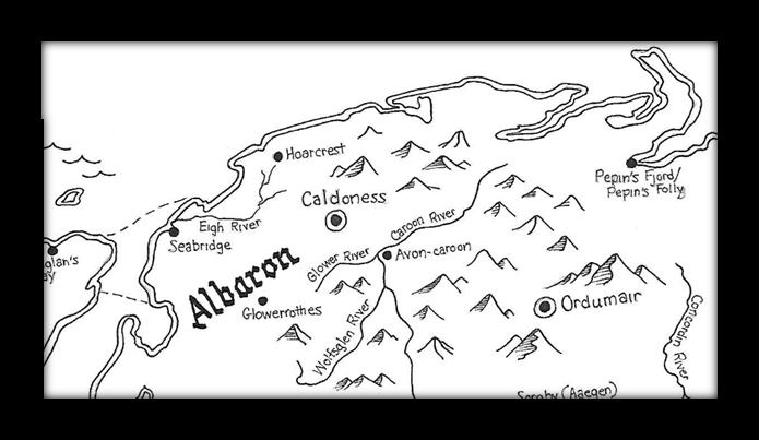 Northwestern Lowlands-Albaron territory